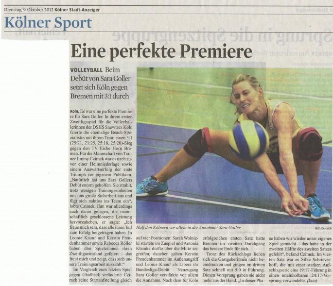 2012-10-08 Kölner Stadt-Anzeiger