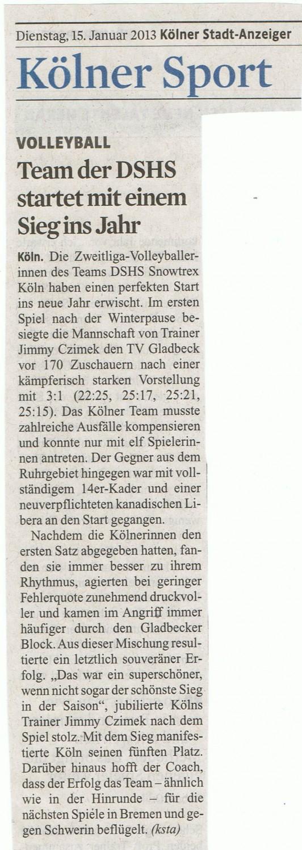 2013-01-15 Kölner Stadt-Anzeiger
