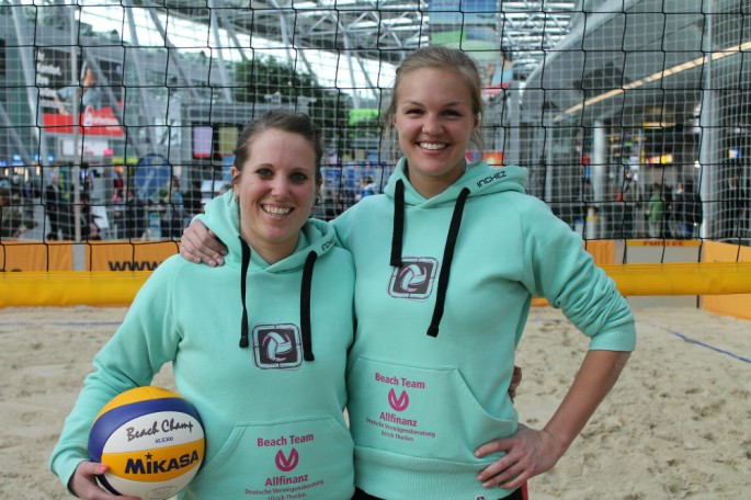 Beach-Team Schrieverhoff-Wagner