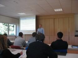 Jimmy Czimek mit Co-Trainer beim DVV-Symposium