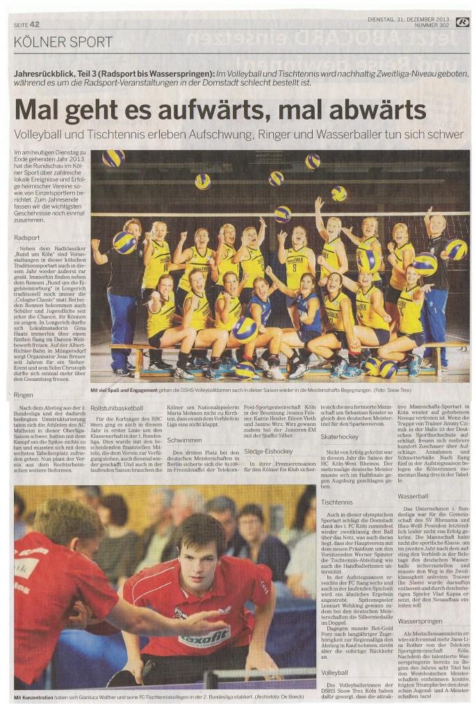 2013-12-31 Kölner Rundschau