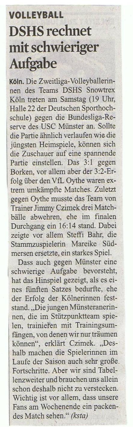 2014-01-25 Kölner Stadt-Anzeiger
