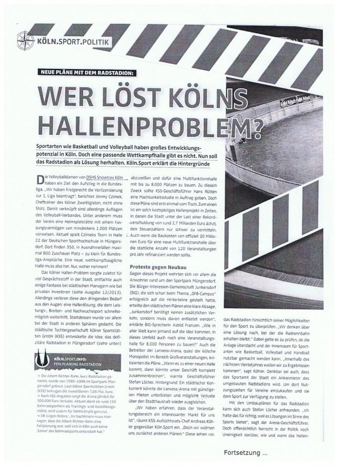 2014-02 Kölnsport Teil 1