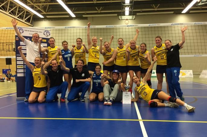DSHS SnowTrex Köln gewinnt zum dritten Mal den WVV-Pokal (Foto: DSHS SnowTrex Köln)