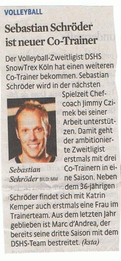 Kölner Stadt-Anzeiger 01.08.2014