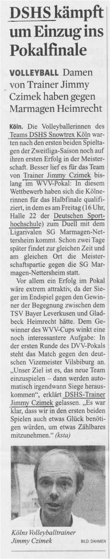 Kölner Stadt-Anzeiger 02.10.2014
