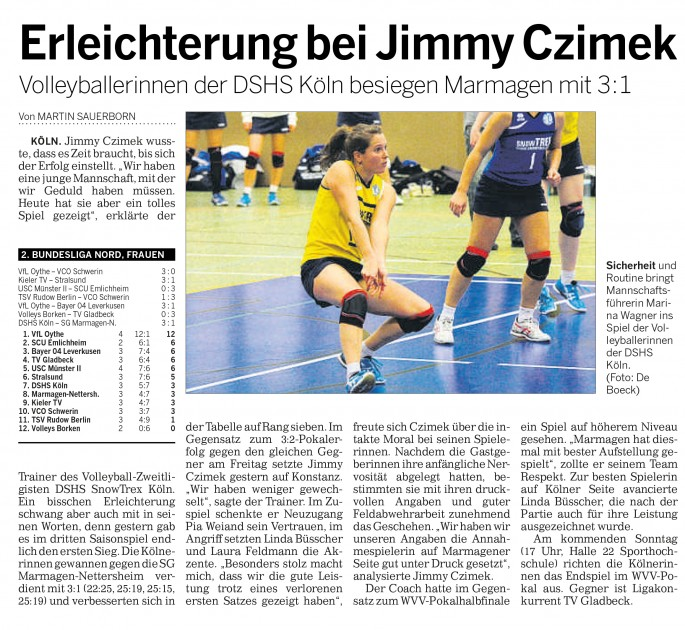 Kölner Rundschau 06.10.2014