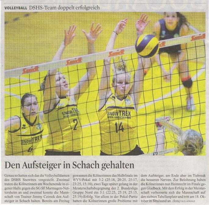 Kölner Stadt-Anzeiger 07.10.2014