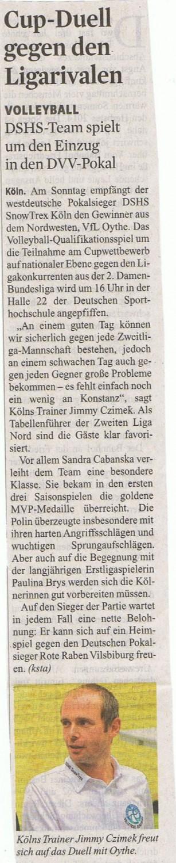 Kölner Stadt-Anzeiger 10.10.2014