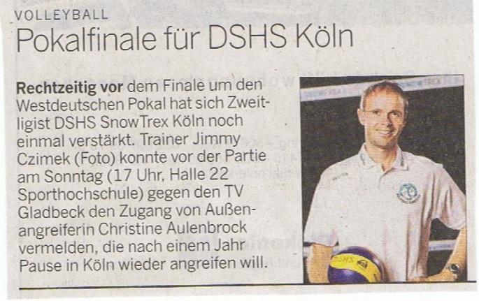 Kölner Rundschau 11.10.2014
