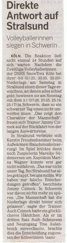 Kölner Rundschau 21.10.2014