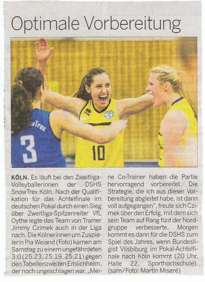 Kölner Rundschau 04.11.2014