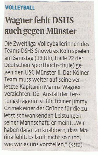Kölner Stadt-Anzeiger 14.11.2014