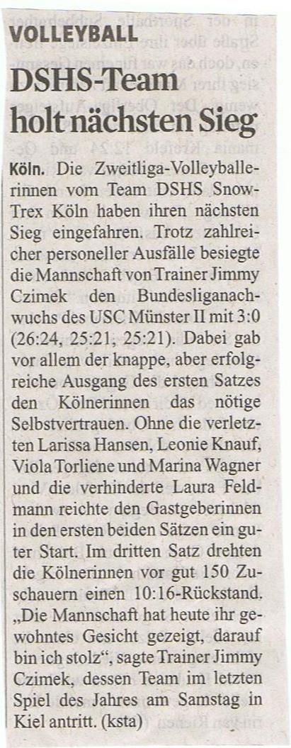 Kölner Stadt-Anzeiger 17.11.2014