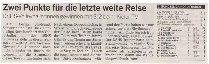 Kölner Rundschau 24.11.2014