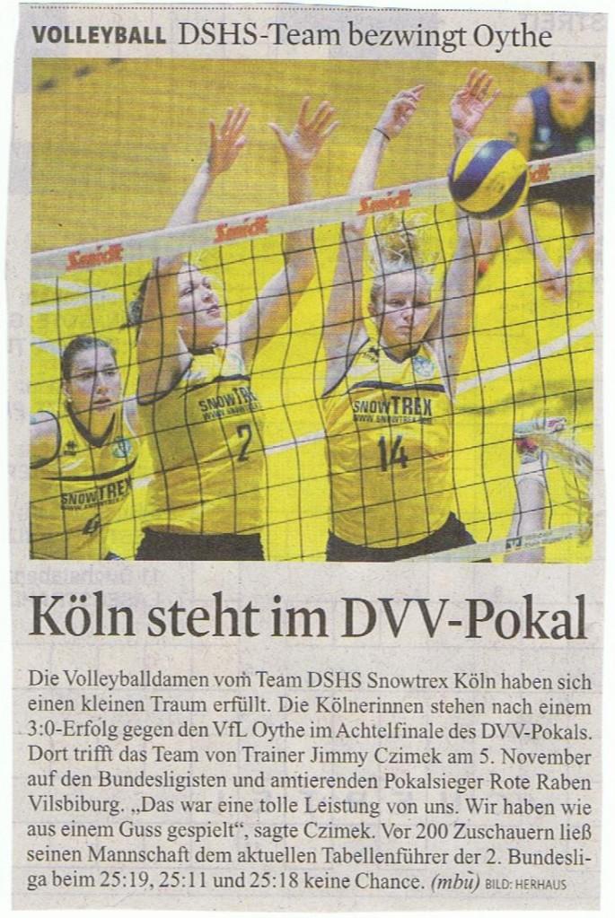 Kölner Stadt-Anzeiger 28.11.2014