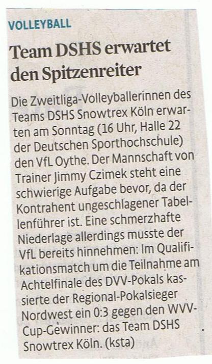 Kölner Stadt-Anzeiger 05.12.2014