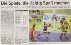 Kölner Rundschau 09.12.2014