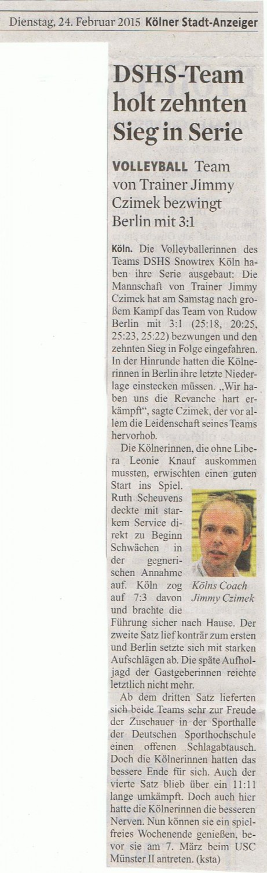 2015-02-24 Kölner Stadt-Anzeiger