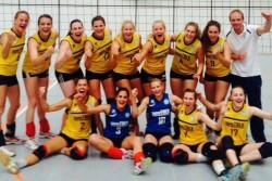 Frauenteam der DSHS Köln ist Deutscher Hochschulmeister 2015 im Volleyball