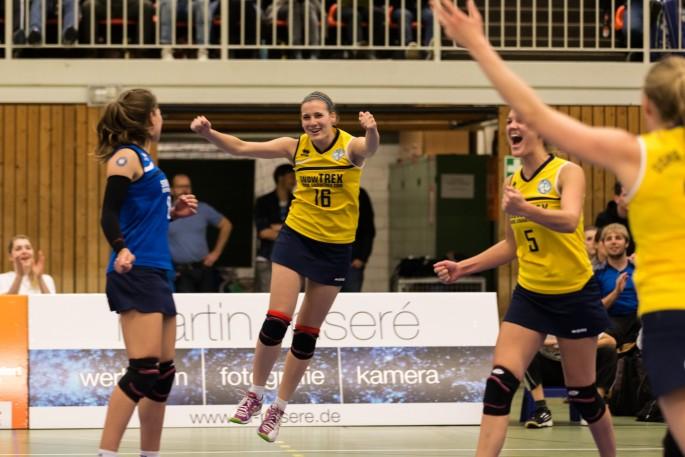 Die Saison 2015/16 der DSHS SnowTrex Köln-Volleyballerinnen steht bevor (Foto: Martin Miseré)