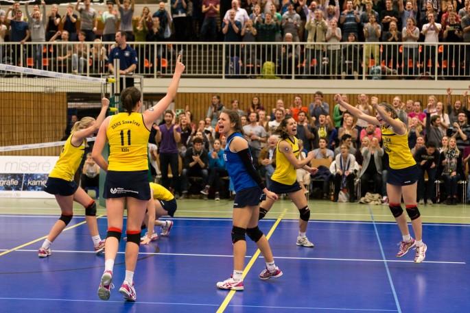 DSHS SnowTrex Köln mit viertem Auftritt im DVV-Pokal (Foto: Martin Miseré)
