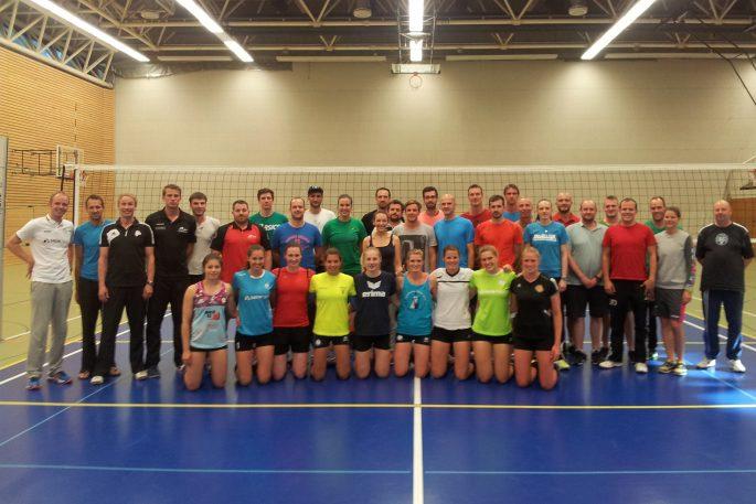 A-Trainer-Ausbildung bei den DSHS SnowTrex Köln-Volleyballerinnen (Foto: DSHS SnowTrex Köln)