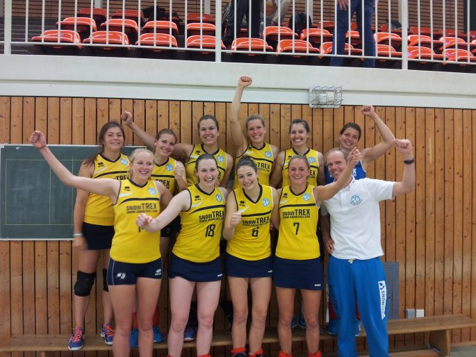 DSHS SnowTrex Köln-Volleyballerinnen erreichen Finalrunde der Hochschulmeisterschaften (Foto: DSHS Snowtrex)