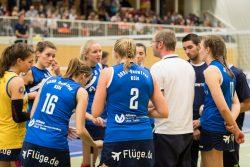 DSHS SnowTrex Köln im letzten Hinrundenspiel gegen Oythe (Foto: Martin Miseré)