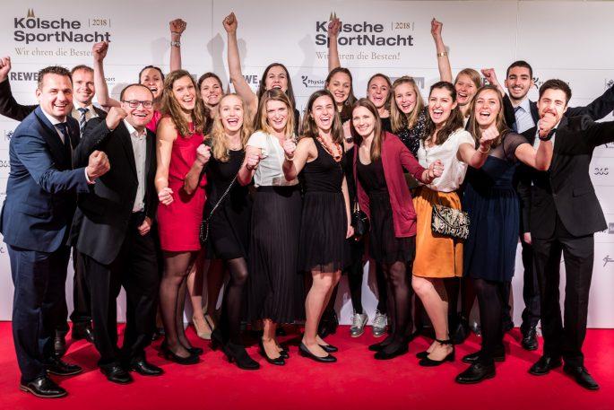 DSHS SnowTrex Köln-Volleyballerinnen bei Wahl zu Kölns Mannschaft des Jahres knapp geschlagen (Foto: Martin Miseré)