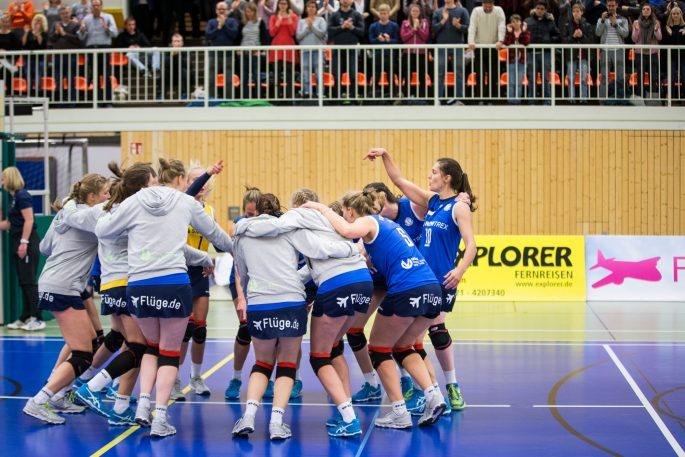 DSHS SnowTrex Köln holt sich mit 3:0-Revanche gegen Dingden erneut den Meistertitel (Foto: Martin Miseré)