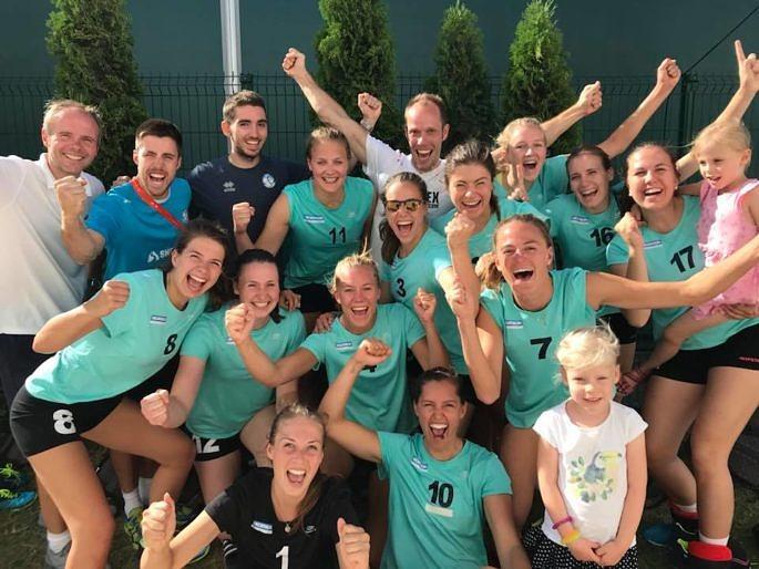 DSHS SnowTrex Köln-Volleyballerinnen werden 6. bei EUSA-Games (Foto: Privat)