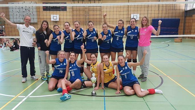DSHS SnowTrex Köln rotiert zum fünften WVV-Pokalsieg (Foto: Privat)