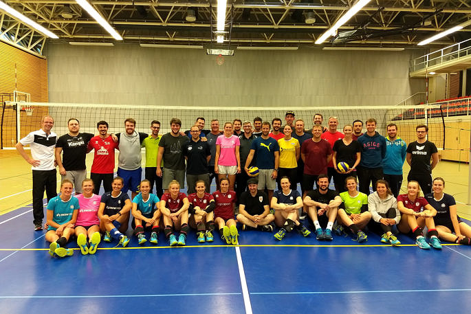 48. A-Trainerlehrgang des DVV zu Gast beim Team DSHS SnowTrex Köln (Foto: Privat)