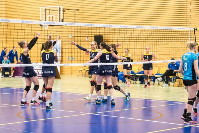 Möchte an die guten Leistungen aus den letzten beiden Saisonspiel anknüpfen: Das Volleyballteam DSHS SnowTrex Köln (Foto: Martin Miseré)